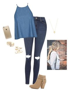 """""""Coffee Date"""" by hanakdudley ❤ liked on Polyvore"""