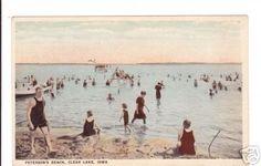 Clear Lake Iowa L.L. Cook postcard