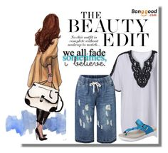 """BANGGOOD  1"" by merryyyyy-132 ❤ liked on Polyvore featuring Summer, jeans and BangGood"