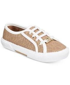 Michael Kors Ima Boerum-t Sneakers, Toddler Girls (4.5-10.5)  - Tan/Beige 10