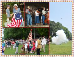 Museum of Appalachia July 4th Celebration and Anvil Shoot.  Great way to celebrate the holiday -- shoot a anvil into the air with black powder.  Must go!!!!!