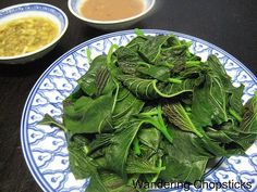 Wandering Chopsticks: Vietnamese Food, Recipes, and More: Rau Den Luoc (Vietnamese Boiled Amaranth Greens)