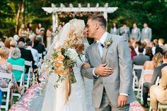 Outdoor wedding at The Mackey House. See more on Savannah Soiree. http://www.savannahsoiree.com/journal/fairytale-wedding-at-the-mackey-house