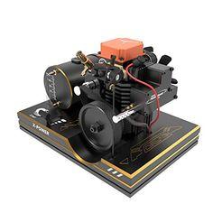 Toyan Engine 4 Stroke RC Engine Kit Set with Toyan Base (All Start Kit Included) Chevrolet Corvette, Corvette Cabrio, Ferrari 348, Porsche 356, Model Engine Kits, Nitro Methane, Carl Benz, Stirling Engine, Rc Tank