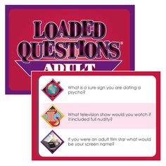 Loaded Questions Adult Version 5