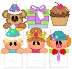 Baggie Buddies (Birthday) - Treasure Box Designs Patterns & Cutting Files (SVG,WPC,GSD,DXF,AI,JPEG)