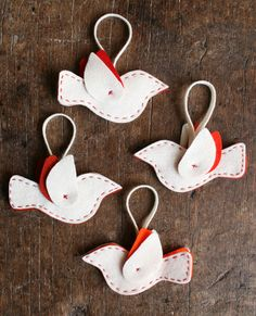 dove christmas decorations