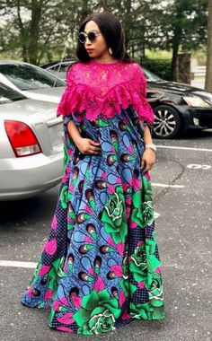 Exotic Ankara Gown Styles In Nigeria African Fashion Ankara, Latest African Fashion Dresses, African Inspired Fashion, African Print Fashion, Africa Fashion, Long African Dresses, African Print Dresses, African Prints, African Traditional Dresses