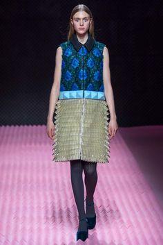 Mary Katrantzou Fall 2015 Ready-to-Wear Fashion Show - Hedvig Palm