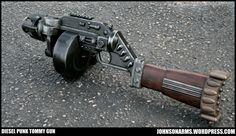 Dieselpunk: Mobster Dieselpunk Tommy Gun Prop by Johnson Arms