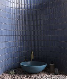 Iggy Blue Gloss Porcelain Mosaic Kitchen Feature Wall, Mandarin Stone, Interior Styling, Interior Design, Family Bathroom, Decorative Tile, Classic Furniture, Mosaic Tiles, Natural Stones