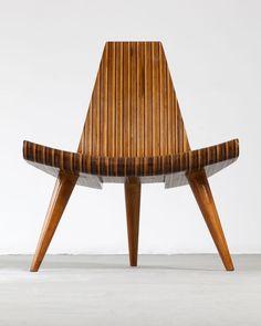 Widely consider the first modern master of Brazilian design, Joaquim Tenreiro created many timeless classics.