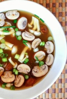 Simple and Nourishing Miso Soup - clean eating that's easy, simple and cheap to make.