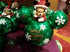 """Holiday Season is almost upon us at the Disney Parks, and """"Days of Christmas"""" in Disney Springs is filled with exciting new holiday items inspired by our favori Mickey Mouse Christmas Tree, Disney Christmas, Disney Springs, Disney Merchandise, Disney Parks, Christmas Bulbs, Take That, Tours, Seasons"""