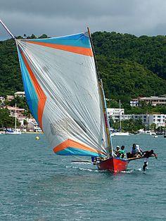 """les """"yoles"""" de Martinique"""