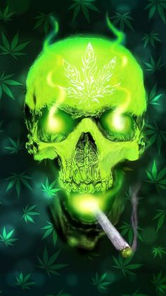 Get Inspired For Flaming Weed Gangster Weed Smoke Wallpaper wallpaper Marijuana Wallpaper, Smoke Wallpaper, Trippy Wallpaper, Skull Wallpaper, Weed Pictures, Skull Pictures, Ghost Rider Wallpaper, Totenkopf Tattoos, Marijuana Art