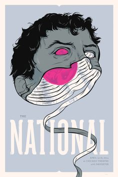 Posters / The National Gig Poster Chicago - Delicious Design League
