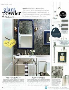 Design Maze: Powder Room Project: Final Reveal  Vanity & wainscotting