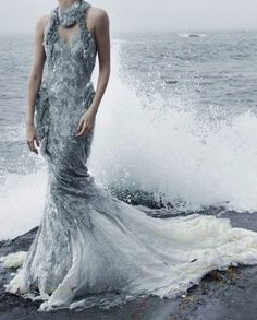 """""""I must be a mermaid, Rango. I have no fear of depths and a great fear of shallow living.""""  ― Anaïs Nin ~GREY ELEGANCE~"""