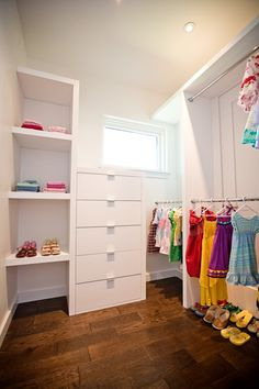 Girl's closet