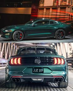 Steve McQueen's Grand-Daughter Molly Drives Up In 2019 Ford Mustang Bullitt - Auto 2019 Ford Mustang Bullitt, Mustang 2018, Mustang Cars, Mustang Gt500, Steve Mcqueen, Pontiac Gto, Chevrolet Camaro, 2019 Ford, Us Cars