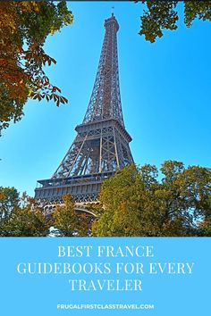 Are you enthusiastic about planning a trip to France? While France travel planning can be done online, I like a hard copy guidebook, both to plan and to travel with. So I've gathered together the best guidebooks about France and the best books on Paris and beyond, regardless of your interests and budget. #France #Paris #travelplanning