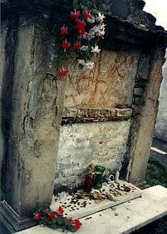 Madame Marie Laveau's tomb in New Orleans
