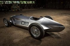 from its beginnings as a simple design sketch, prototype 9 reimagines what might have been for a 1940's INFINITI grand prix race car.