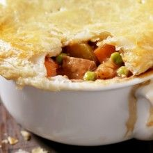 Watching your kilojoule intake? Try this salmon pot pie recipe that weighs in under 2000 kilojoules, will help lower your cholesterol and improve your memory!