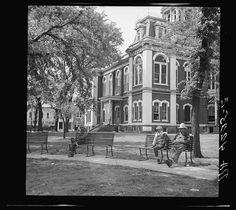 County courthouse. Columbus, Kansas 1936