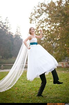 hahahaha, i was about to pin this on my wedding board..but then decided it was more funny than wedding like.