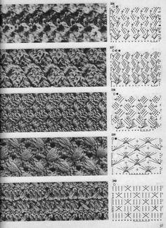 View album on Yandex. Crochet Stitches Chart, Crochet Diagram, Crochet Motif, Knitting Stitches, Knitting Patterns, Knit Crochet, Crochet Patterns, Crochet Books, Tunisian Crochet