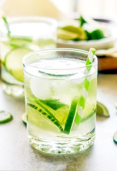 Brazil's national drink, the Caipirinha is a strong drink made from cachaca, muddled limes, and sugar served over ice. A refreshing and delicious cocktail that is perfect for hot summer days and backyard barbecues. Strong Cocktails, Bourbon Cocktails, Refreshing Cocktails, Summer Drinks, Fun Drinks, Summer Food, Cocktail Recipes, Alcoholic Drinks