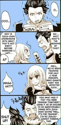Hehe... Silver knows what Gray wants. :3