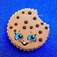 Chocolate Chip Cookie from Shopkins World Cookie