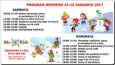 Ateliere de weekend pentru copii
