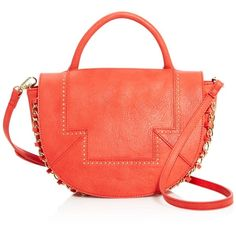 Danielle Nicole Ryan Crossbody Bag - Compare at $78 ($41) ❤ liked on Polyvore featuring bags, handbags, shoulder bags, red shoulder bag, red crossbody, danielle nicole purses, crossbody shoulder bags and crossbody purse