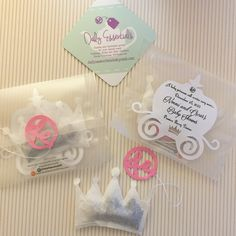 Special #princess #teabags for a soon to be princess @dailyessentialsde #dailyessentialsde #princesslife #tea #teabags #handmade #babyshower #partyfavors #etsy #etsyshop #shopetsy #custommade #tealife #teabagging #crown   www.dailyessentialsde.etsy.com