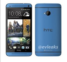 Blue HTC One Appears in Leaked Press Photo, Imsomobile