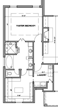 Master Suite with Laundry room. Master Suite Floor Plan, Master Suite Layout, Master Bedroom Plans, Master Bedroom Bathroom, Bathroom Layout Plans, Bathroom Floor Plans, House Floor Plans, Bedroom Addition Plans, Master Bedroom Addition