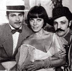 """Lauro Corona, Ney Latorraca e Bruna Lombardi, """"Memórias de um gigolô"""""""