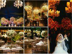 Decoração para casamento luxuoso - Foto Bruno Sturcket