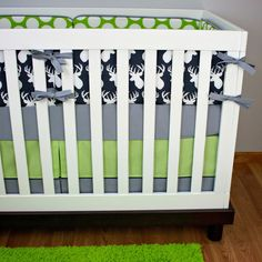 Awesome Antlers Crib Bedding | Modified Tot