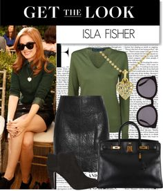 """""""Get the Look: Isla Fisher"""" by polyvore-editorial on Polyvore"""