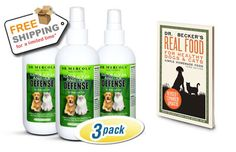 Natural Flea and Tick Defense 3-Pack Free Shipping with Free Tick Stick