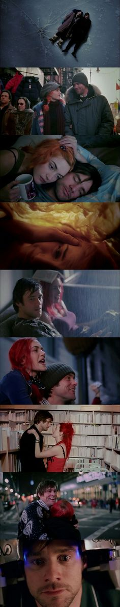 Eternal Sunshine Of The Spotless Mind(2004) Cinematography by Ellen Kuras.