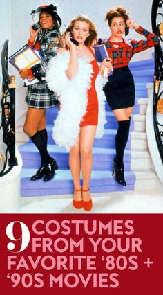 Easy AND iconic Halloween costumes.You can find Movie halloween costumes and more on our website.Easy AND iconic Halloween costumes. 80s Halloween Costumes, Movie Halloween Costumes, Hallowen Costume, Best 90s Costumes, Easy 80s Costume, Easy Adult Halloween Costumes For Women, College Costumes, Easy Halloween Costumes For Women, 1970s