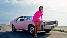 The 1968 Playmate of the Year AMC AMX Comes With A Very Twisted Story