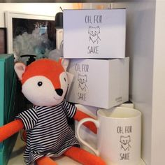 Oh for fox sake this mug is flying off the shelves!  Get in quick while we still have some left!  #forfoxsake #foxylady #shutthefrontdoorstore
