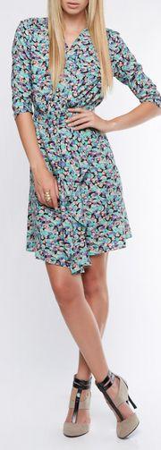 Trend 2013 Flower prints -  wrap dress